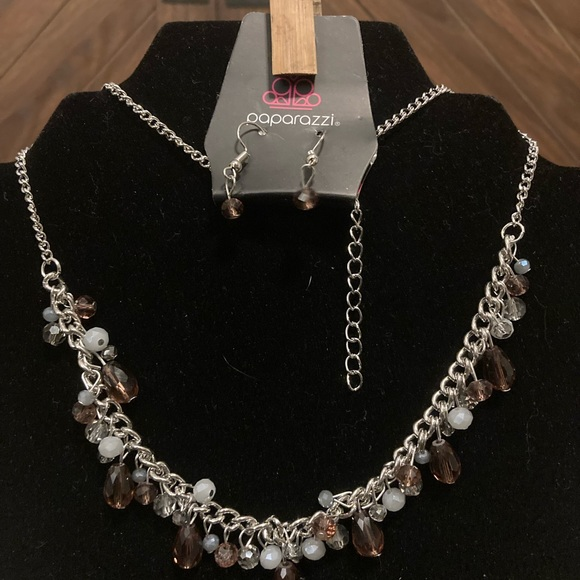 Courageously Catwalk Purple Necklace